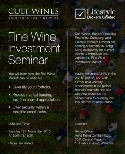 Fine Wine Investment Seminar